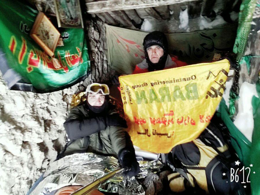 تحویل سال کوهنوردان لاهیجانی در قله سماموس + تصاویر