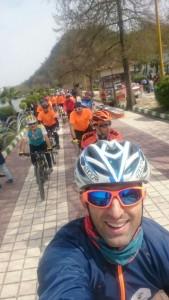 تور دوچرخه سواری لاهیجان 1 169x300 - گزارش تصویری تور دوچرخه سواری جشنواره نوروزی دوچرخه سواران شهرستان لاهیجان