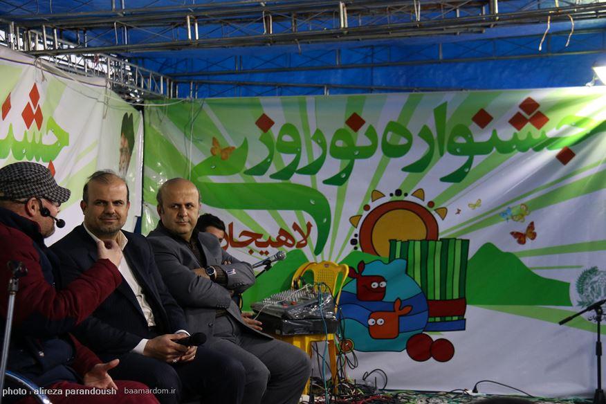جشنواره نوروزی لاهیجان 6 - استقبال گردشگران و مسافران از برنامه های نوروزی شهرستان لاهیجان