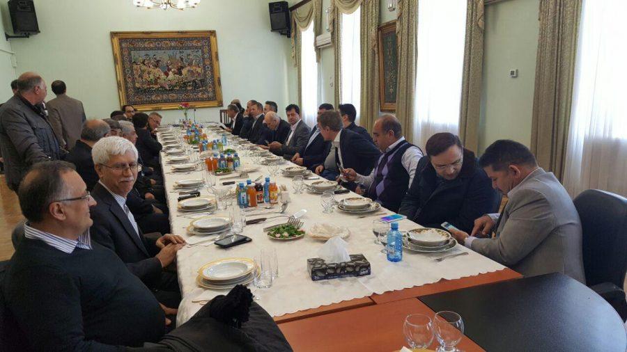 جلسه هیات ایرانی با تجار و بازرگانان ارمنستان