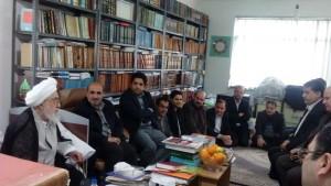 دیدار دانشگاهیان دانشگاه آزاد لاهیجان با آیت الله قربانی (10)
