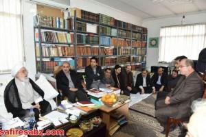 دیدار دانشگاهیان دانشگاه آزاد لاهیجان با آیت الله قربانی (12)