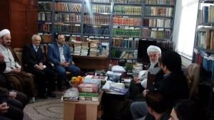 دیدار دانشگاهیان دانشگاه آزاد لاهیجان با آیت الله قربانی (13)