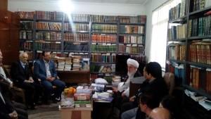دیدار دانشگاهیان دانشگاه آزاد لاهیجان با آیت الله قربانی (14)