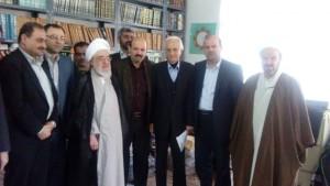 دیدار دانشگاهیان دانشگاه آزاد لاهیجان با آیت الله قربانی (15)