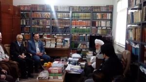 دیدار دانشگاهیان دانشگاه آزاد لاهیجان با آیت الله قربانی (16)