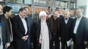 دیدار دانشگاهیان دانشگاه آزاد لاهیجان با آیت الله قربانی (2)