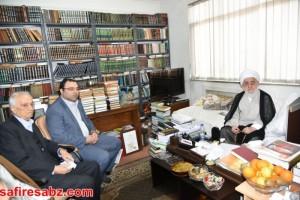 دیدار دانشگاهیان دانشگاه آزاد لاهیجان با آیت الله قربانی (9)
