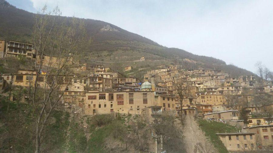 مسافران نوروزی در شهرک تاریخی ماسوله/گزارش تصویری