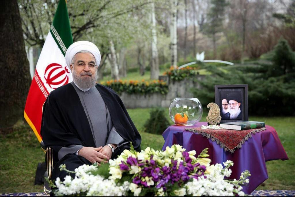 نوروز روحانی 1024x684 - روحانی هم به کمپین نه به ماهی قرمز پیوست! + عکس