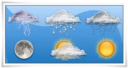 آسمان گیلان تا پایان هفته جاری نیمه ابری در بعضی نقاط رگبار باران است