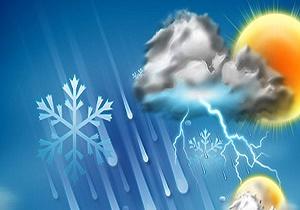 بارش های خفیف و پراکنده در شمال شرق/ ورود مجدد سامانه بارشی از شمال غرب به کشور