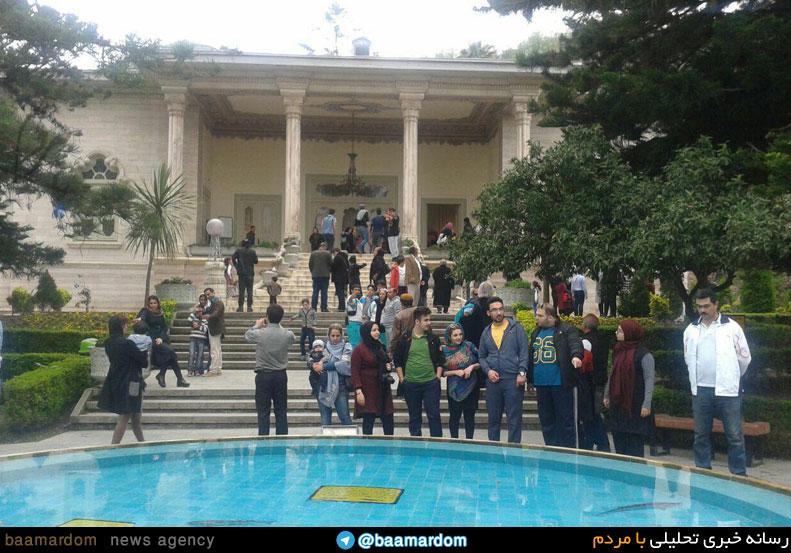 01 ramsar - 500شی از دوران رژیم پهلوی در کاخ موزه رامسر مورد دید همگام قرار گرفته است
