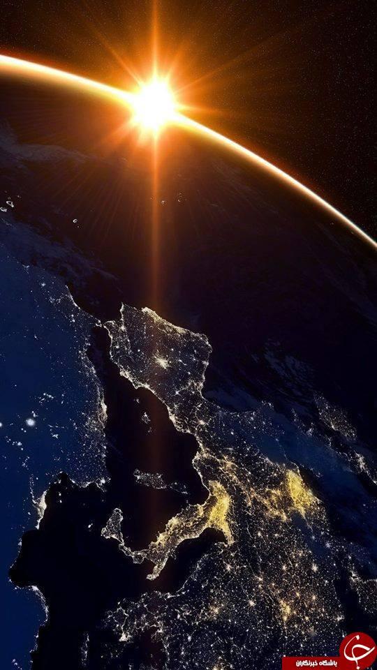 شب های رویایی زمین از نگاه فضانوردان +تصاویر
