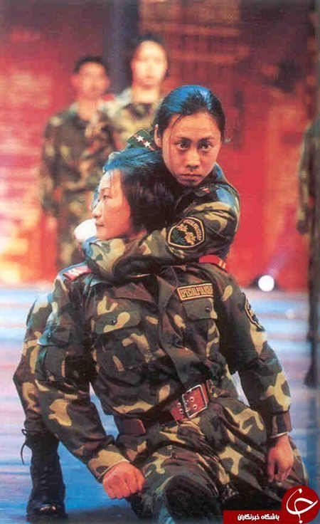 زنان ارتش چین اینگونه می جنگند +تصاویر