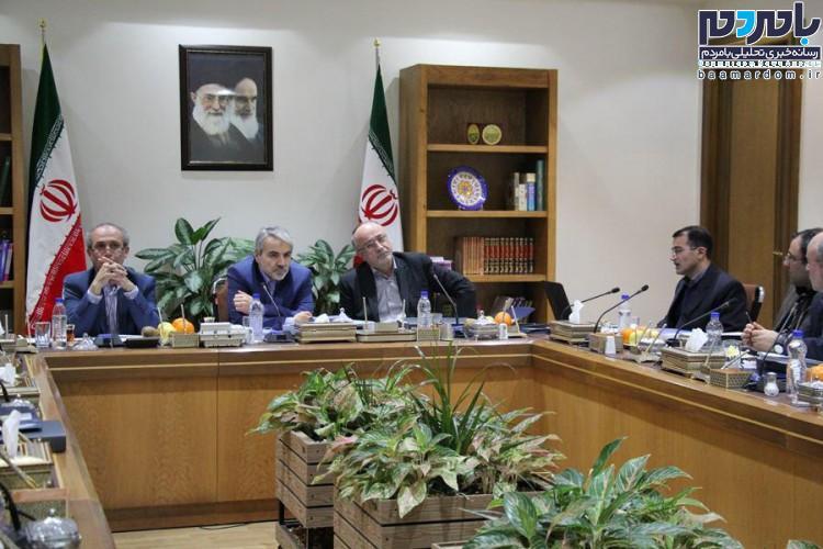دوازدهمین جلسه هیأت امنای دانشگاه آزاد اسلامی استان گیلان برگزار شد