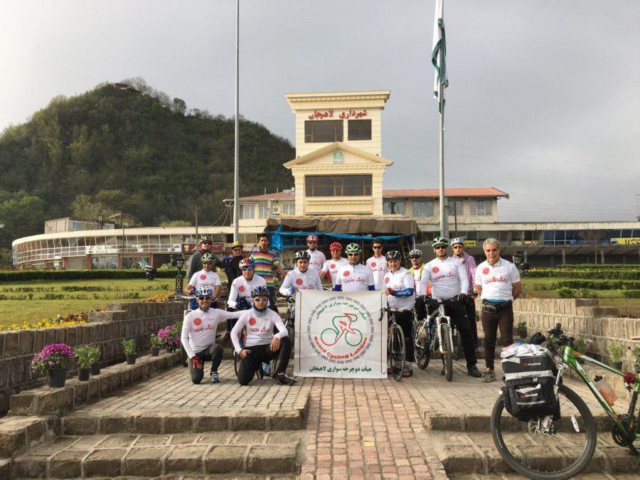 نخستین تمرين و گردهمایی رسمي هيات دوچرخه سواري لاهيجان/ گزارش تصویری
