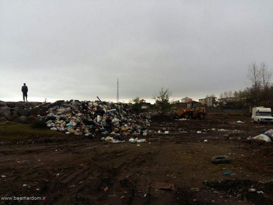photo 2016 03 31 13 12 29 Copy - ساحل زیبای دریا زباله دانی نیست / گزارش تصویری پراکندگی زباله ها در ساحل کلاچای