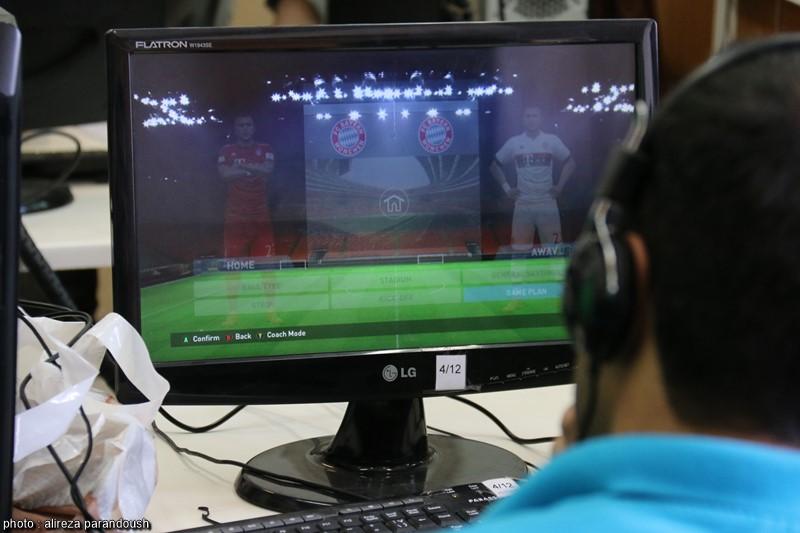 گزارش تصویری برگزاری نخستین دوره مسابقات pes 2016 در دانشگاه آزاد لاهیجان