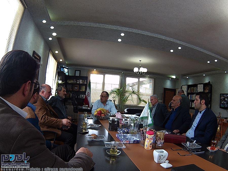 دیدار متفاوت روابط عمومی دانشگاه آزاد واحد لاهیجان با چهره های ملی فوتبال ایران! + تصاویر