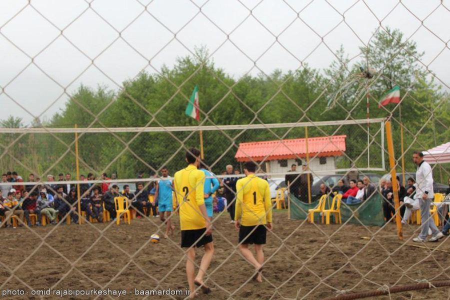 گزارش تصویری مسابقات والیبال ساحلی بین دو استان گیلان و مازندران