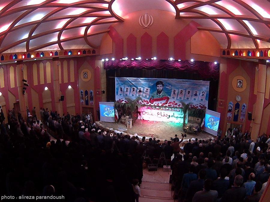 گزارش تصویری اختصاصی از یادواره شهدای سپاه وانقلاب اسلامی در لاهیجان