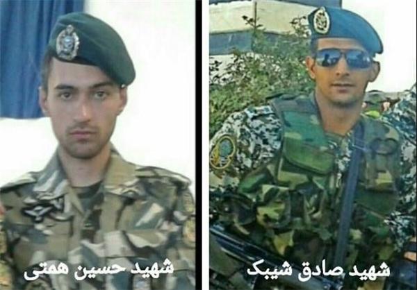 دو مدافع حرم ارتش در سوریه به شهادت رسیدند+عکس