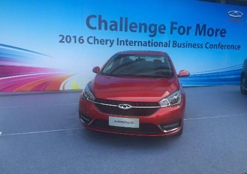 یک خودروی چيني دیگر در بازار ايران +عکس