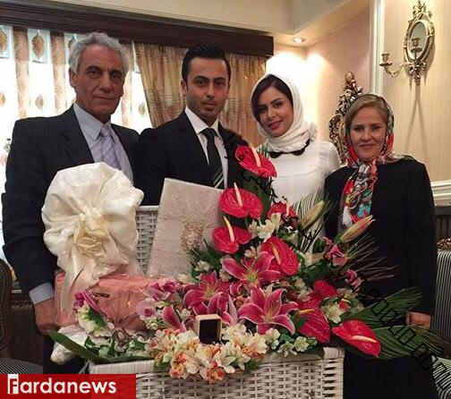 خانم مجری ازدواج کرد+عکس