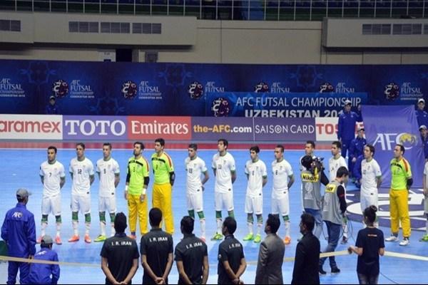 تیم ملی فوتسال ایران کاندیدای بهترین تیم جهان شد