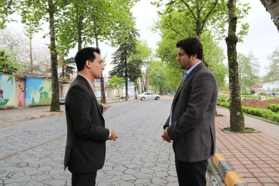 بازدید شهردار سرعین از پروژه های شهرداری لاهیجان + تصاویر