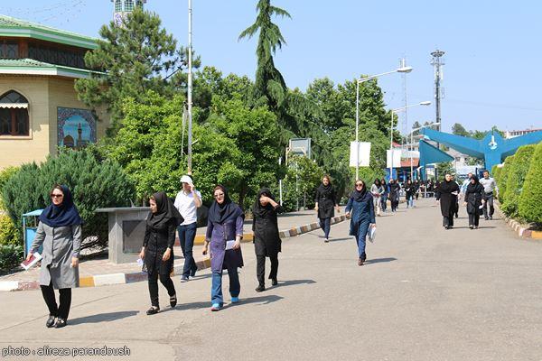 آزمون کارشناسی ارشد دانشگاه آزاد در لاهیجان (1)