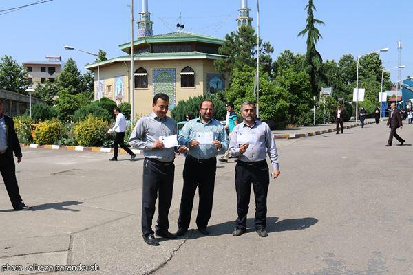 آزمون کارشناسی ارشد دانشگاه آزاد در لاهیجان (2)