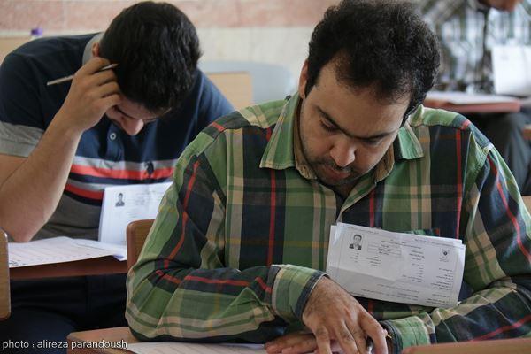 آزمون کارشناسی ارشد دانشگاه آزاد در لاهیجان (8)