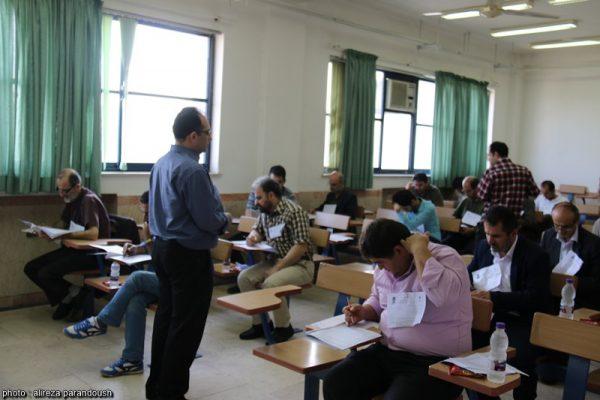 آزمون کارشناسی ارشد سال 95 دانشگاه آزاد اسلامی در شهرستان لاهیجان + تصاویر (15)