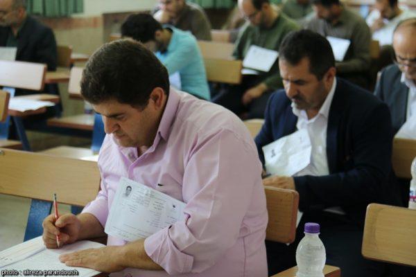 آزمون کارشناسی ارشد سال 95 دانشگاه آزاد اسلامی در شهرستان لاهیجان + تصاویر (16)