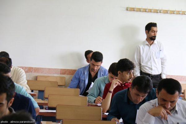 آزمون کارشناسی ارشد سال 95 دانشگاه آزاد اسلامی در شهرستان لاهیجان + تصاویر (18)