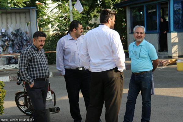 آزمون کارشناسی ارشد سال 95 دانشگاه آزاد اسلامی در شهرستان لاهیجان + تصاویر (2)