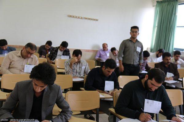 آزمون کارشناسی ارشد سال 95 دانشگاه آزاد اسلامی در شهرستان لاهیجان + تصاویر (27)
