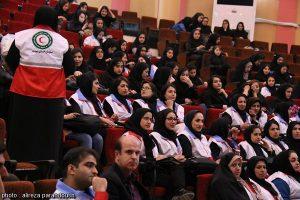 برگزاری همایش گرامیداشت هفته هلال احمر در دانشگاه آزاد لاهیجان (2)