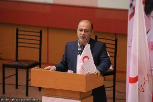 برگزاری همایش گرامیداشت هفته هلال احمر در دانشگاه آزاد لاهیجان (21)