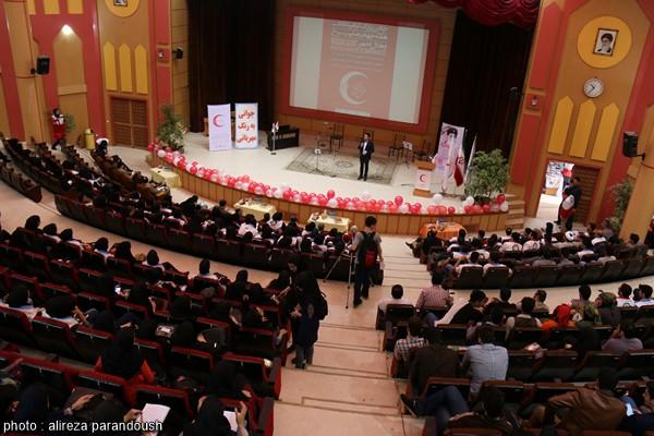 برگزاری همایش گرامیداشت هفته هلال احمر در دانشگاه آزاد لاهیجان + تصاویر
