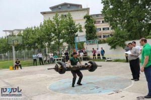 دومین دوره مسابقات قوی ترین مردان در دانشگاه آزاد لاهیجان (1)
