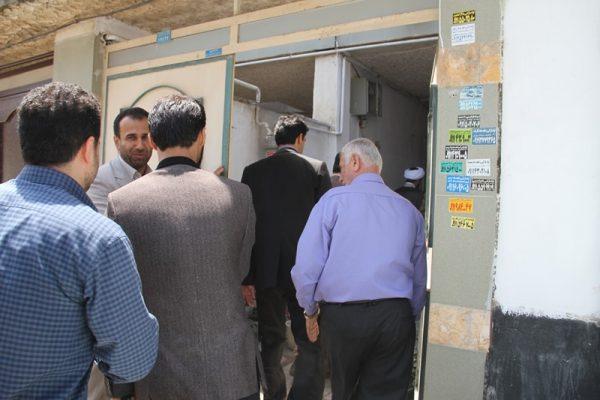 دیدار جمعی از مسئولان دانشگاه آزاد لاهیجان با خانواده شهید مباشر امینی (1)