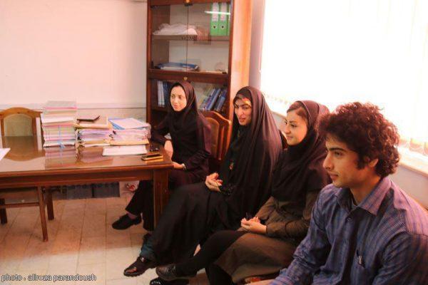 نشست روابط عمومی دانشگاه آزاد لاهیجان با ریاست واحد (2)
