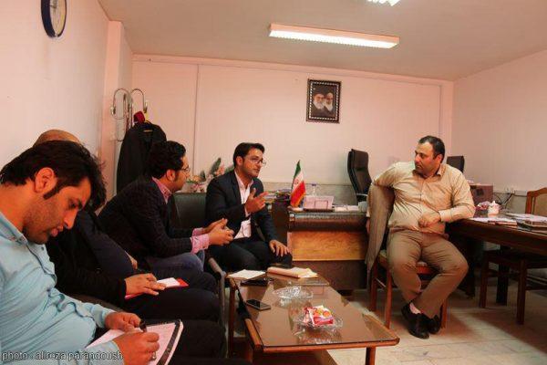 نشست روابط عمومی دانشگاه آزاد لاهیجان با ریاست واحد (3)