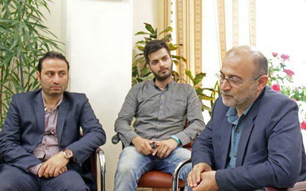 نشست روابط عمومی دانشگاه آزاد لاهیجان با فرماندار لاهیجان (2)