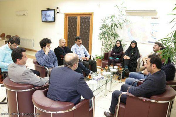 نشست روابط عمومی دانشگاه آزاد لاهیجان با فرماندار لاهیجان (9)