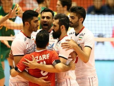گام بلند والیبال ایران برای المپیکی شدن با غلبه بر استرالیا