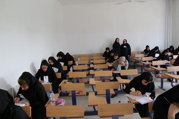کنکور کارشناسی ارشد سال 95 دانشگاه آزاد در لاهیجان (101)